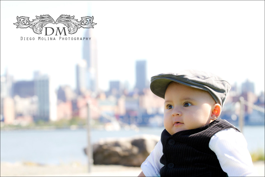 Family and Child Portrait session in Hoboken - Diego Molina Photography