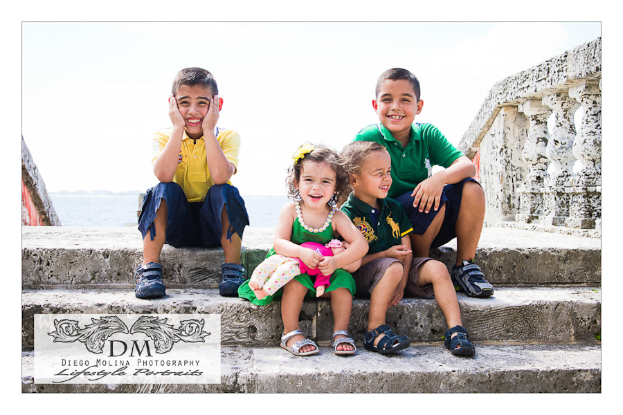 Lifestyle Children Photography Vizcaya Museum & Gardens in South Miami