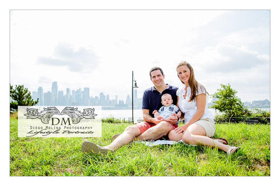 Baby Boy and Family Portrait Session - NJ Family, Baby and Children Photography