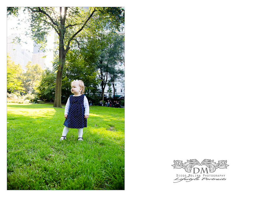 beautiful central park photography baby