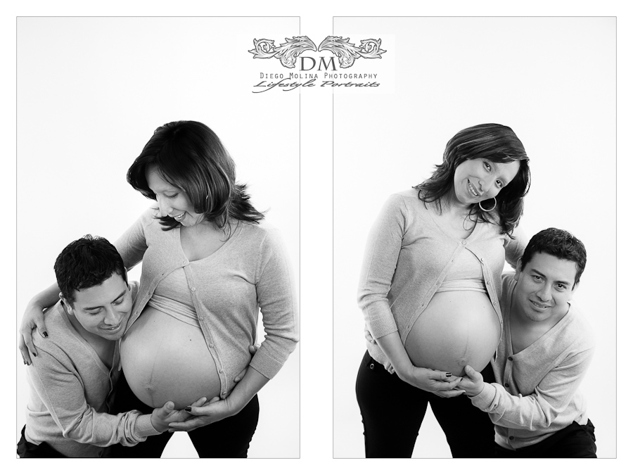 studio maternity photographer