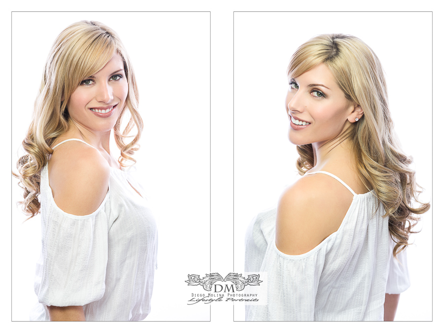 Model Portfolio and Fashion Beauty Headshots