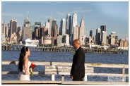 New York City and The first look wedding