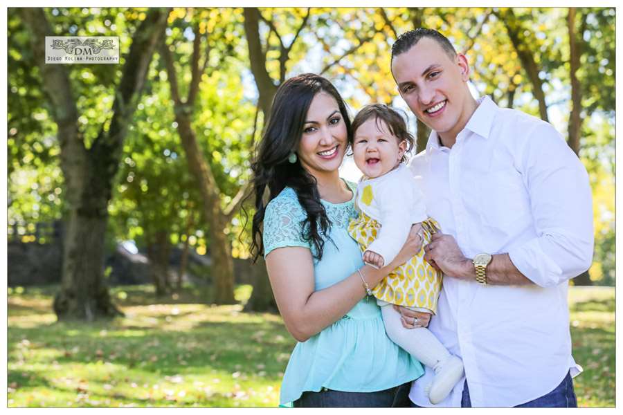 On Location family photography session at James Braddock Park North Bergen, NJ