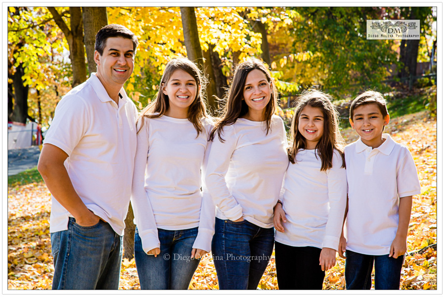 Bergen County Family Portraits Photography Session In