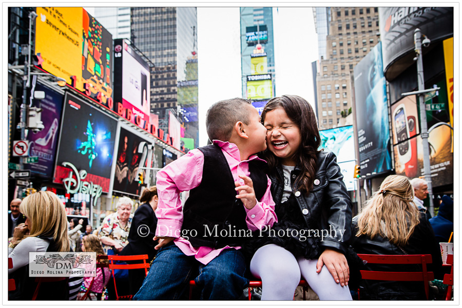 Children Photographer Times Square NY