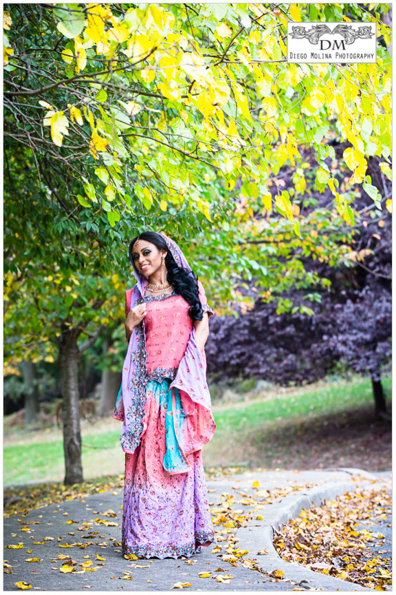 Indian bride saree - indian wedding photographer