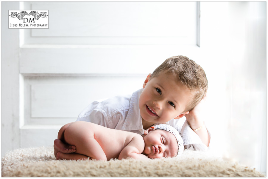 bergen county infant photos, meet my newborn baby sister and her newborn photography