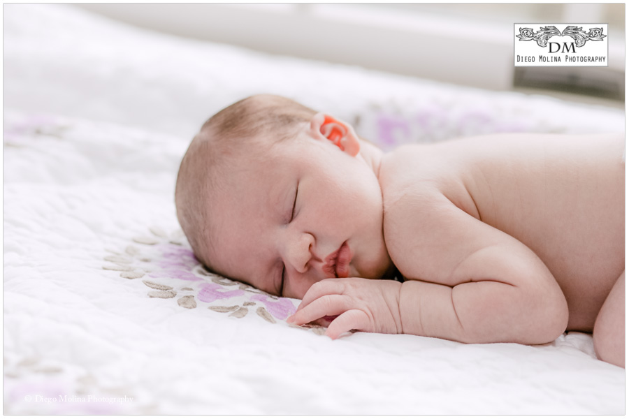 her newborn session in upper saddle river nj