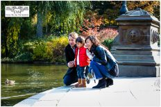 Bethesda Fountain: Family Portrait Session in Central Park