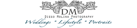 Family Photographer NYC & NJ | Diego Molina. Newborn baby photographer, maternity photographer, and family photography studio logo