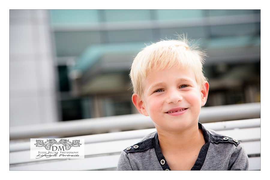 handsome kid photography session
