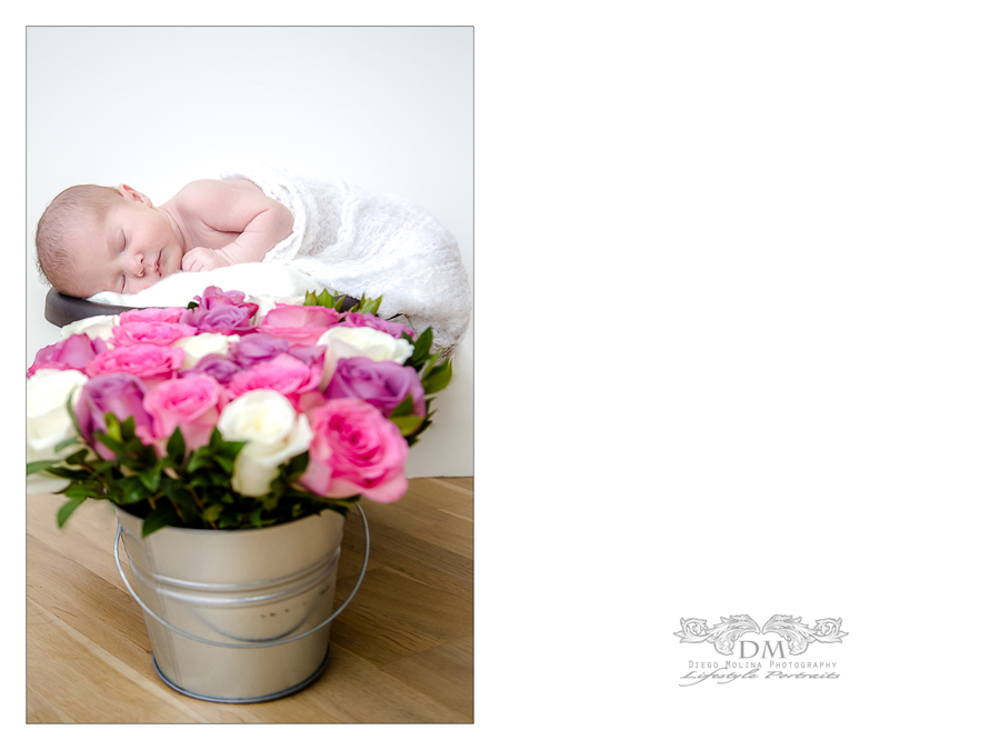 infant photos in NY, captured by NYC maternity photographer. Diego Molina