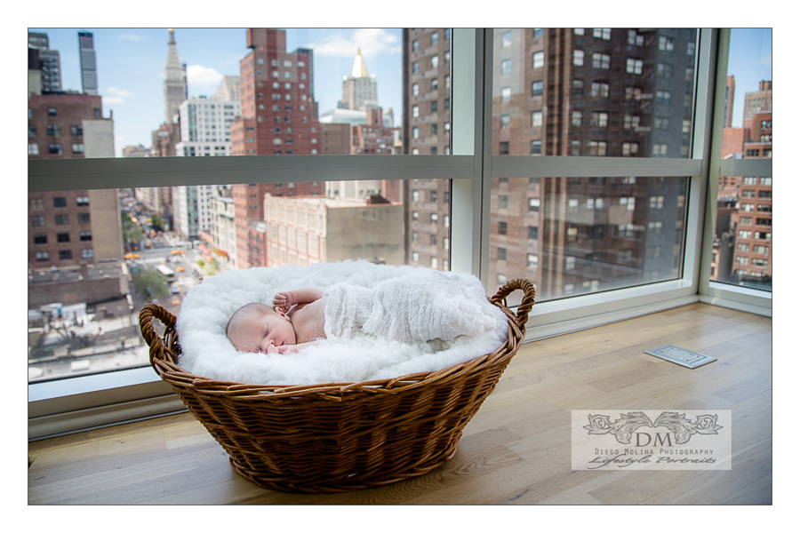 newborn baby photos in NYC.