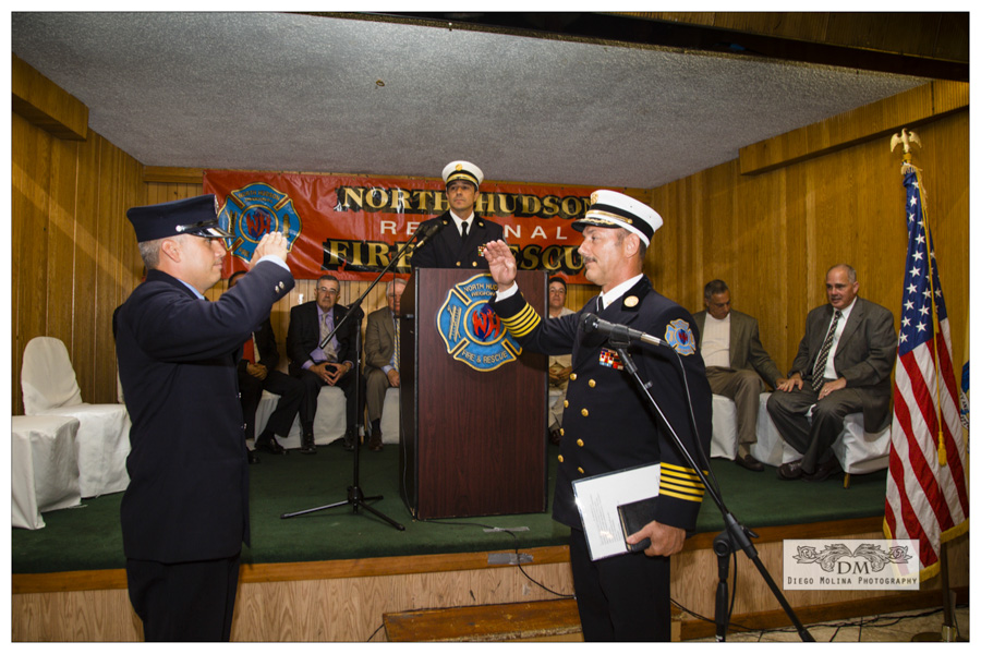 NHRFR Promotional ceremony North Bergen - Event Photographers