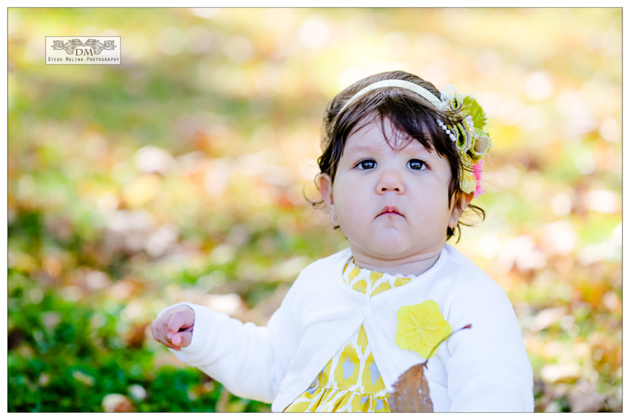 On Location baby photography session at James Braddock Park North Bergen, NJ