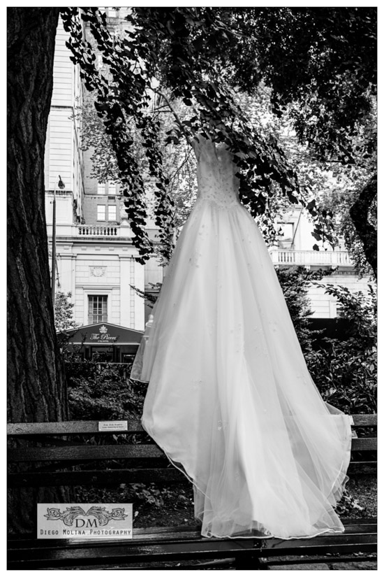 The Pierre Hotel Wedding Ball Gown