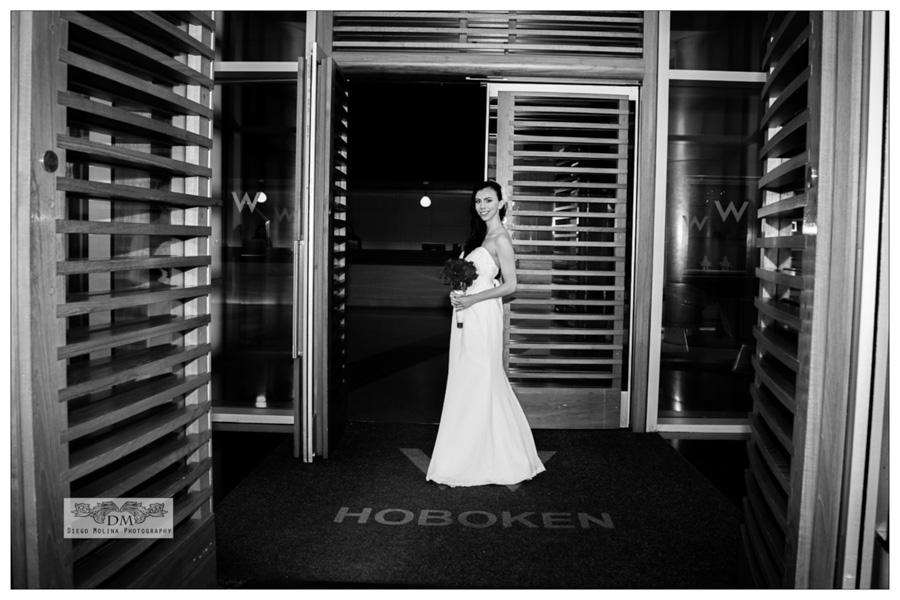 Bridal Pictures at the W Hotel Hoboken