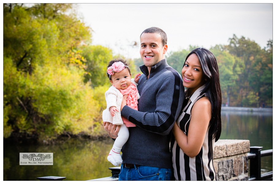 Family Portrait Session with Baby Girl