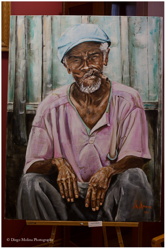 weehawken nj fine art painter - cuban