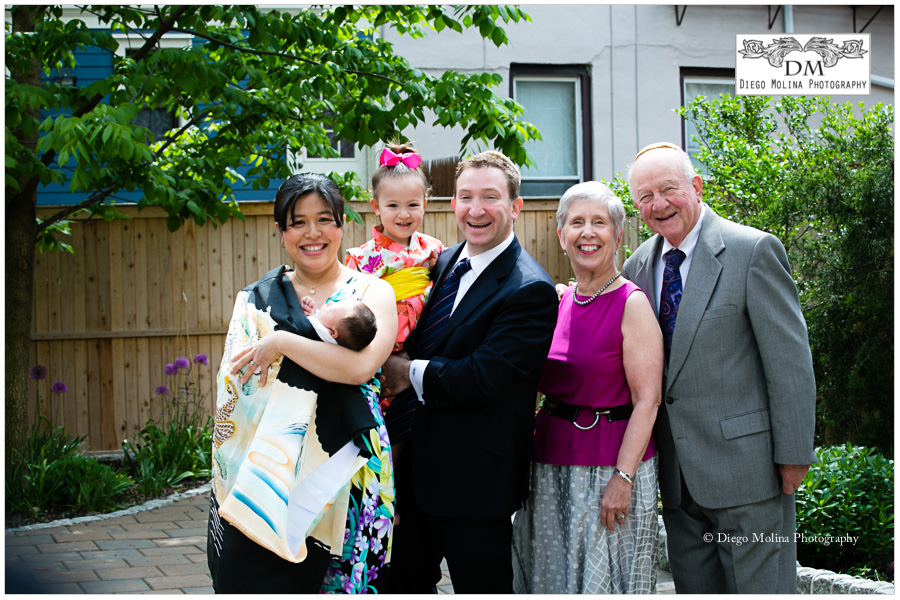 Family Photography - Bris Milah Ceremony Hoboken NJ